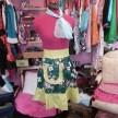Green and Gorgeous Half Apron