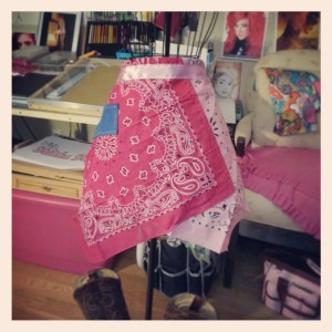 The Bandana Apron-Front