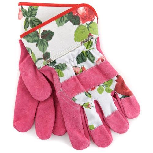 Charming Sunflower Pink Gloves