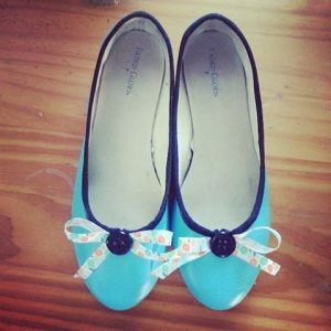Turquoise Shoes $35