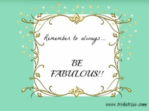 Remember Fabulous