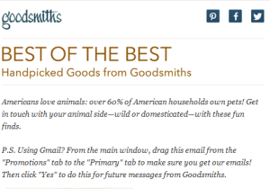 Goodsmiths Snippet Wild