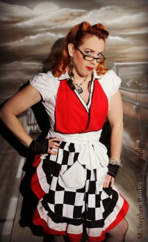 Dragster Racy Apron