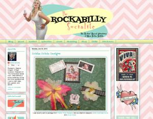 Rockabilly Socialite Aprons