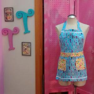 BabyBlue#Milkshake #Floral #rickrac #paddywack #petite #pinafore or #childrens #apron