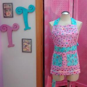 Pink #Cupcake #giraffe #rickrac #paddywack #petite #pinafore or #childrens #apron