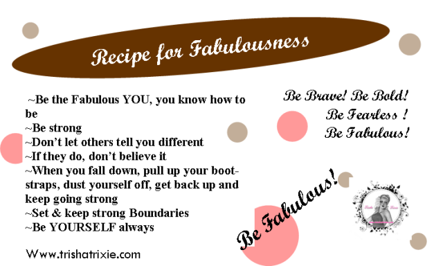 Recipe Card for Fabulousness